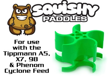 X7 Squishy Paddles : Premium Paintball Products ? Canada  s Best Stocked Proshop TechT Tippmann Squishy Paddles